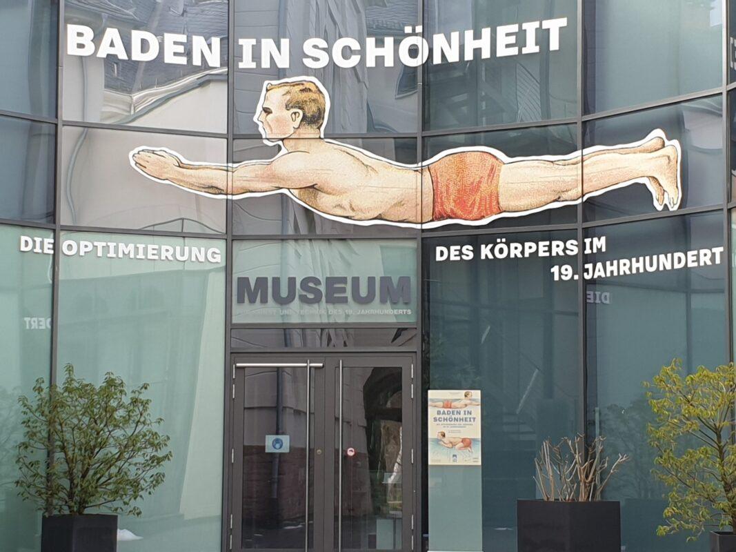 Museumsfassade Baden In Schönheit