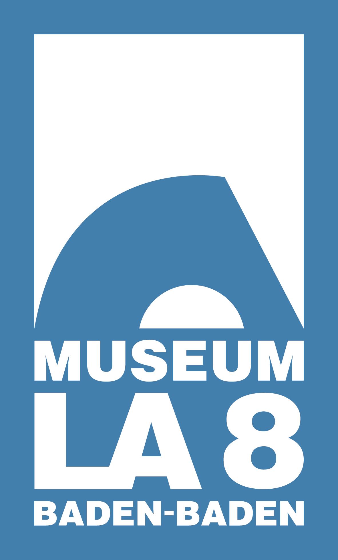 Presse Logo Museumla8 Weissaufblau
